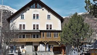 Das Bündner Herrschaftshaus dient heute als Ferienhaus.
