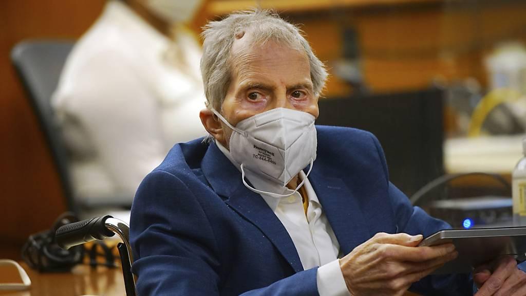 Mordprozess gegen US-Millionär Durst nach Corona-Pause fortgesetzt