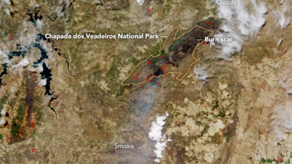 Der Park Chapada dos Veadeiros unweit der brasilianischen Hauptstadt umfasst etwa die Fläche des Kantons St. Gallen.