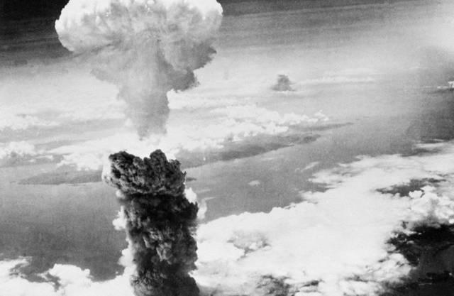 Am 9. August 1945 waren die USA über Nagasaki eine Atombombe ab (Archiv)