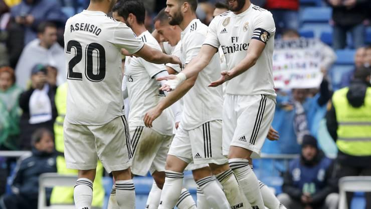 Karim Benzema erfüllte seine Captain-Pflichten mit zwei Toren
