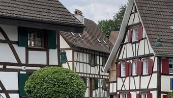 Die Schönheit der Allschwiler Riegelhäuser kann demnächst von innen und aussen betrachtet werden.