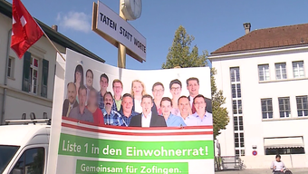 Die mutmassliche Brandstifterin von Zofingen ist seit einigen Tagen in Untersuchungshaft. Gleichzeitig will sie für die SVP in den Einwohnerrat.