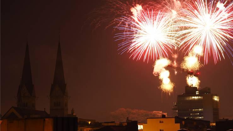 Wird wohl heuer nichts mit dem pyrotechnischen Schauspiel über den Dächern der Stadt.