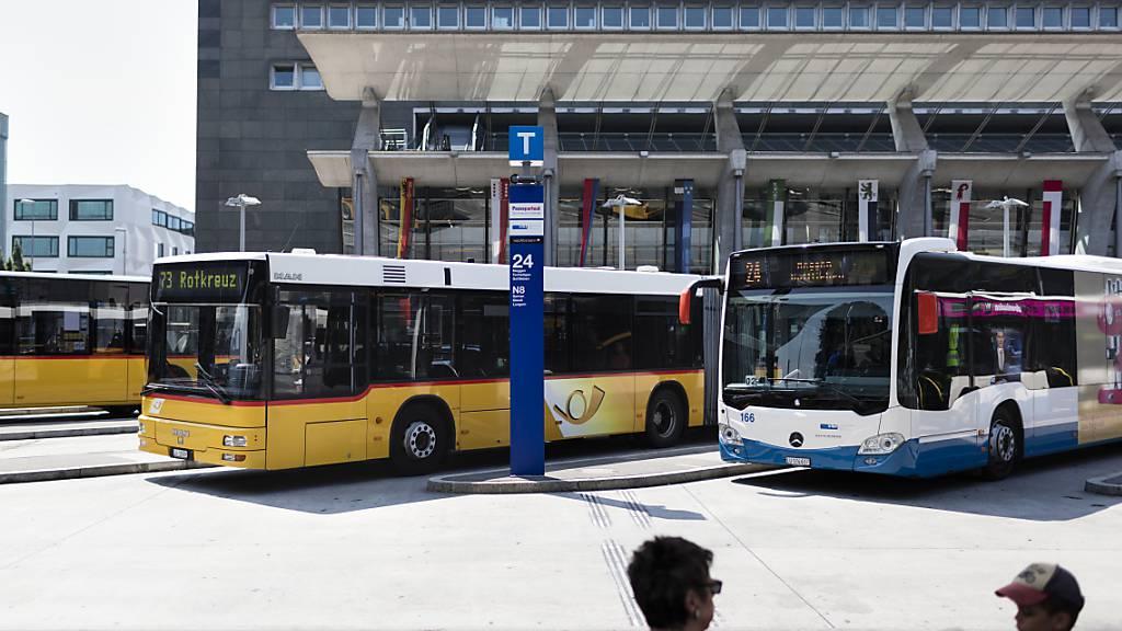 Öffentlicher Verkehr baut Angebot ab 27. April wieder aus