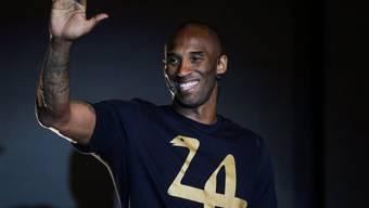 Hahn im Korb: Ex-Sportler Kobe Bryant ist nun Vater von drei Mädchen. (Archivbild)