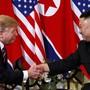 Obwohl die beiden Länder inhaltlich nicht weitergekommen sind, haben US-Präsident Donald Trump und Nordkoreas Machthaber Kim Jong Un nach dem Gipfel nette Worte füreinander übrig.