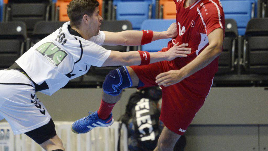 Lukas von Deschwanden war mit 5 Toren bester Schweizer Schütze