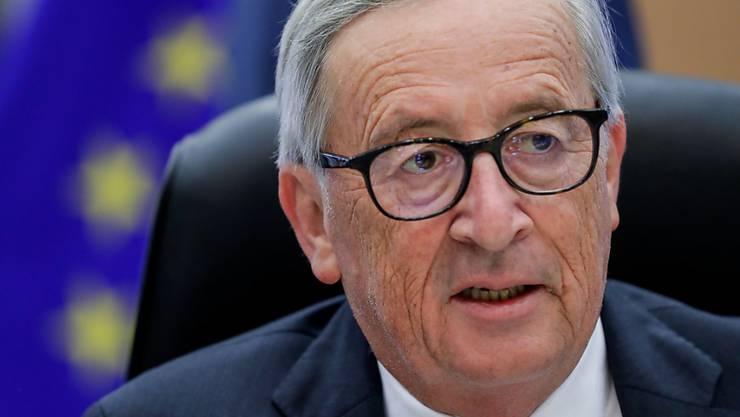 Krankheiten wie Masern nehmen stark zu. EU-Kommissionspräsident Juncker hat Impfgegner kritisiert. (Archivbild)