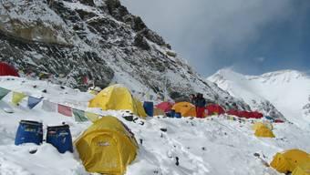 Basislager am Mount Everest (Archiv)