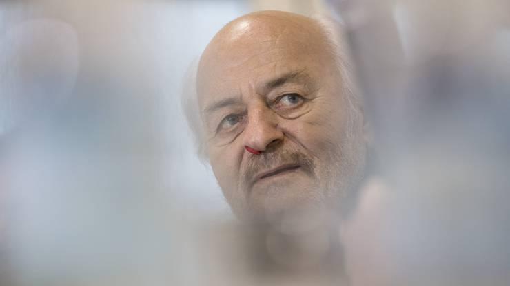 Litt an Blutkrebs: Unternehmer  Rihs.