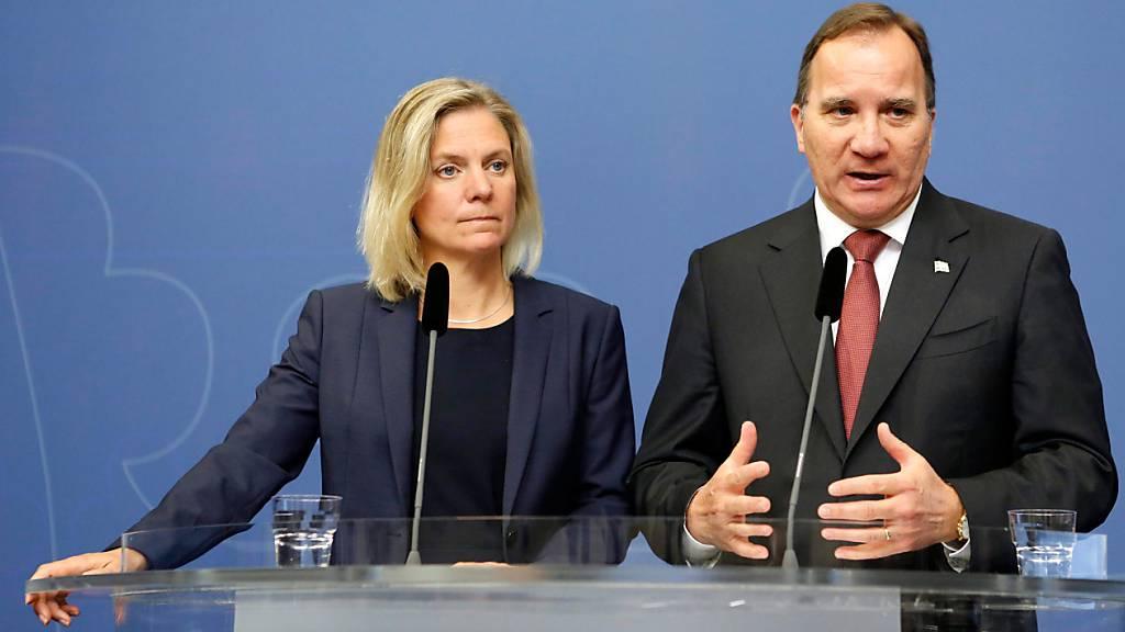 Schweden könnte erstmals von einer Frau regiert werden