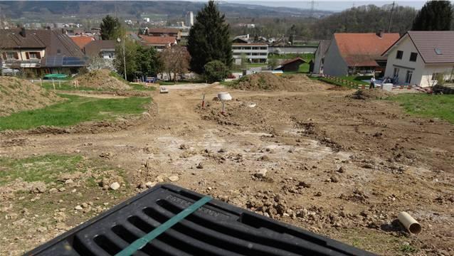 Im Gebiet Kaltenbrunnen in Eiken entsteht der Quellenweg. – Foto: chr