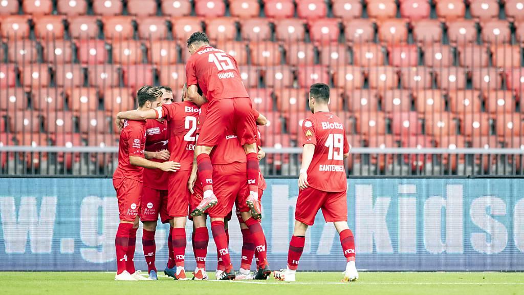 Winterthur haushoher Favorit gegen Bavois