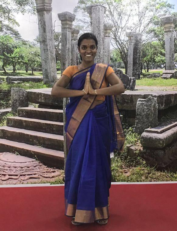 Sakuntala im Februar 2018 in Sri Lanka.