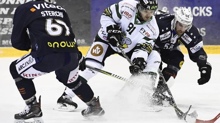 Oltens Evgueni Chiriayev gegen Arnaud Jaquet.