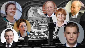 Einige der Kandidaten der Extreme