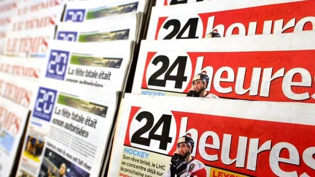 """Unter den Tageszeitungen ist das Gratis-Blatt """"20 Minuten"""" marktführend (Symbolbild)"""