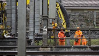 Ölverlust bei SBB-Bauarbeiten zwischen Olten und Bern
