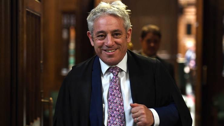 Der ehemalige Parlamentssprecher John Bercow