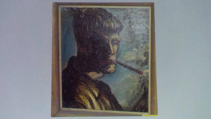 Ein Selbstportrait von Otto Dix ist eines von 1400 Kundstschätzen, die gefunden wurden.