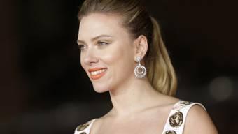 Scarlett Johansson letzten Herbst in Rom