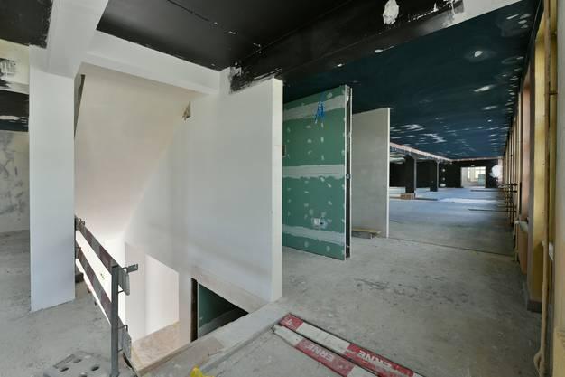 Das neue Haus der Museen, welches künftig das Naturmuseum, das historische Museum und das Archäologische Museum beherbergen wird, soll auf Ende 2019 eröffnet werden.