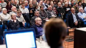 Die Gemeindeversammlung – ein Auslaufmodell?Hanspeter Bärtschi/Archiv