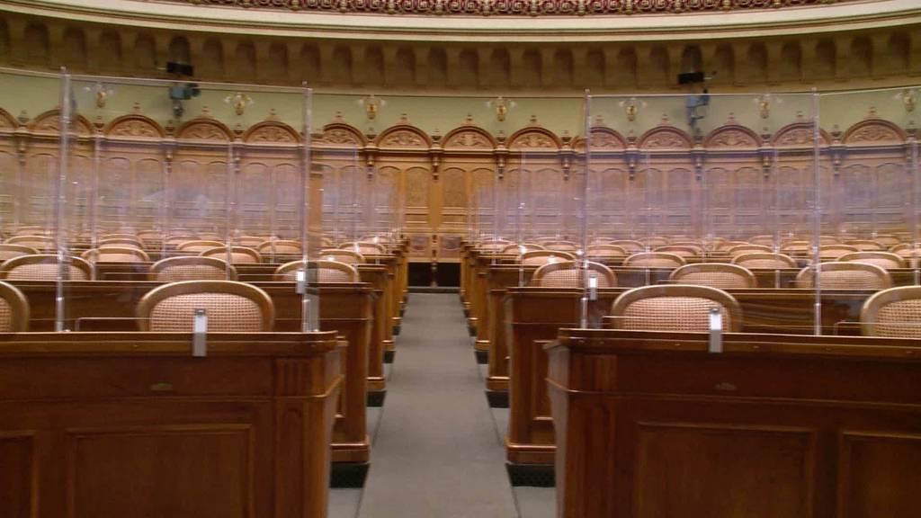 Neue Infrastruktur: Bundeshaus wird Corona-konform