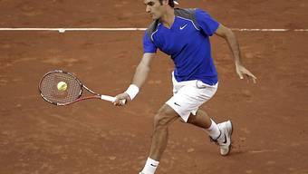 Roger Federer überzeugte gegen Söderling.
