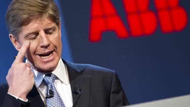 ABB-Konzernchef Joe Hogan tritt aus persönlichen Gründen ab.