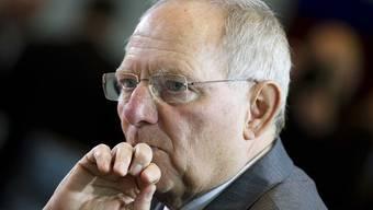 Der deutsche Finanzminister Wolfgang Schäuble (Archiv)