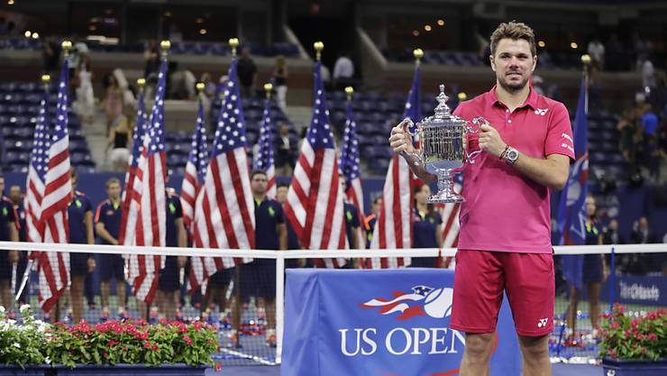 Stan Wawrinka gewann an den US Open 2016 seinen dritten und bisher letzten Grand-Slam-Titel