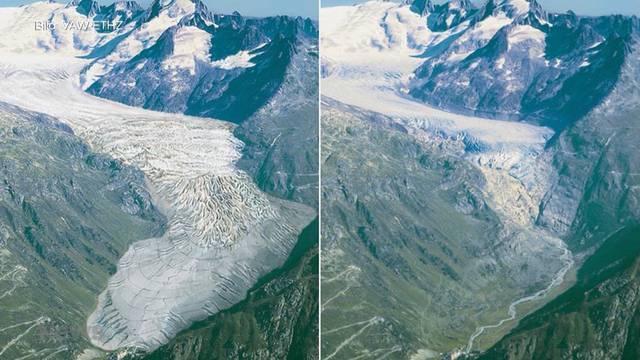 Bürgerliche lancieren Initiative zum Gletscherschutz