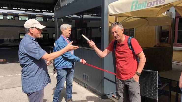 Werner Kunz ist neuer Wanderleiter.
