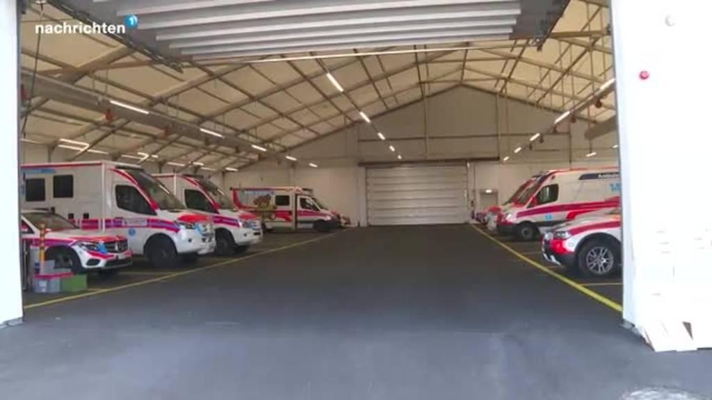 Neues provisorium für Rettungsfahrzeuge LUKS