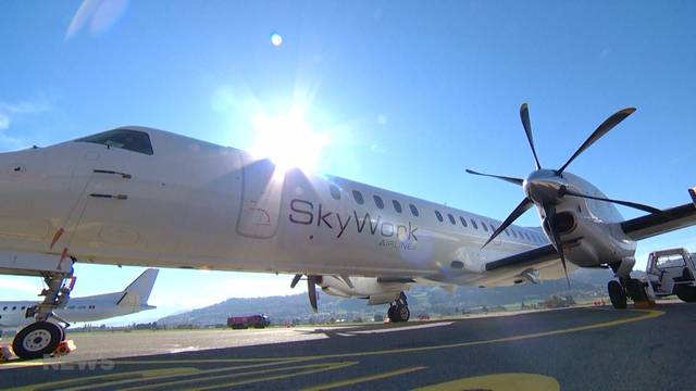 Neue Flugstrecke für Skywork