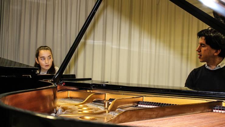 Die 13-jährige Valentina Barrera hat am 2. Brugger Klavier-Förderpreis Frieda Vogt abgeräumt, ihr nächstes Ziel ist der Aargauer Musikwettbewerb.