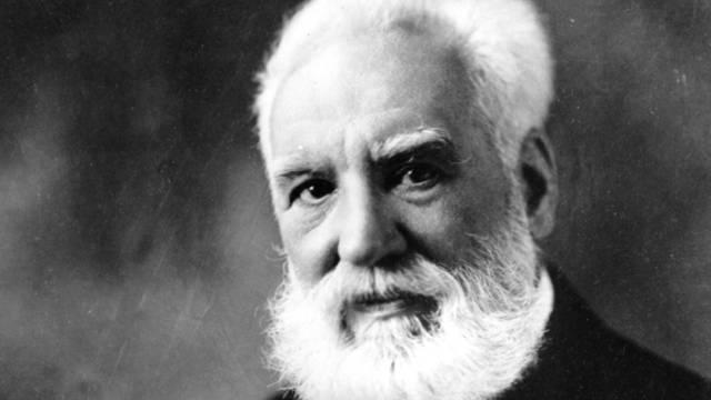 Der Erfinder Alexander Graham Bell: Einige seiner Briefe kamen unter den Hammer (Archiv)