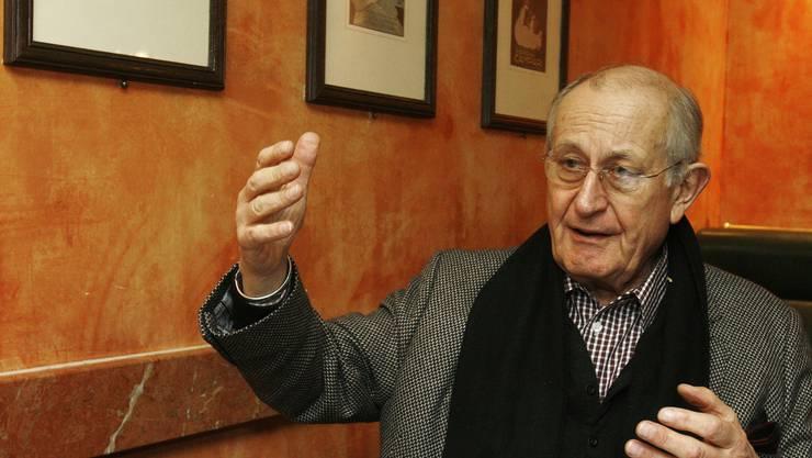 Hans Hollmann feiert seinen 80. Geburtstag.