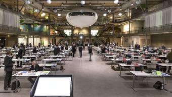 Grosser Rat in der Umwelt-Arena Spreitenbach