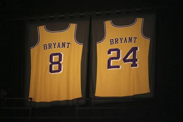 Bryant spielte während seiner ganzen Karriere nur für die Lakers, erst mit der 8, später mit der 24.