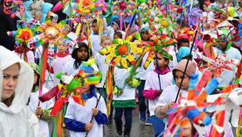 Schulfest-Umzug 2017 in Olten
