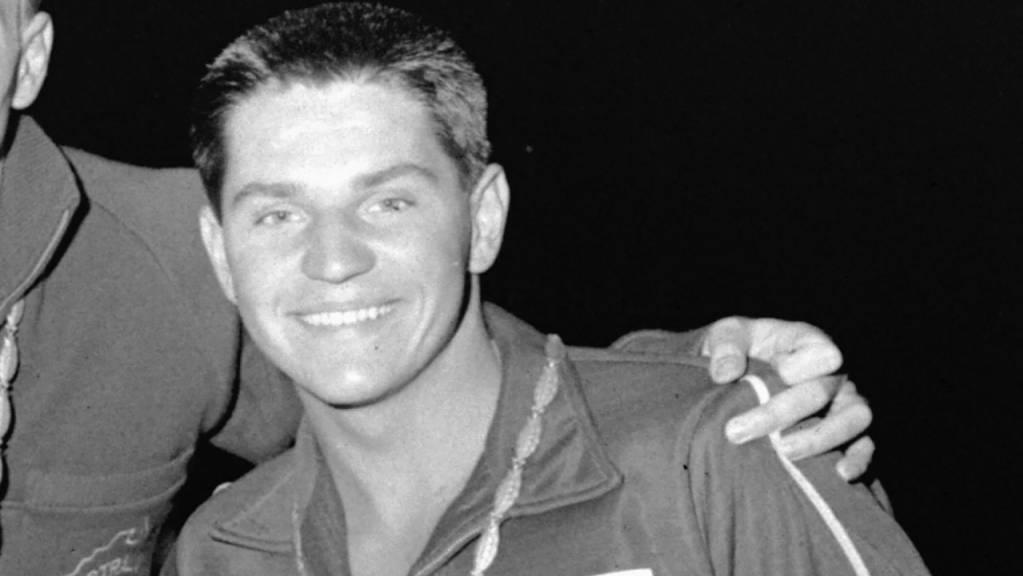 John Konrads stand bei den Olympischen Spielen 1960 in Rom dreimal auf dem Podest.