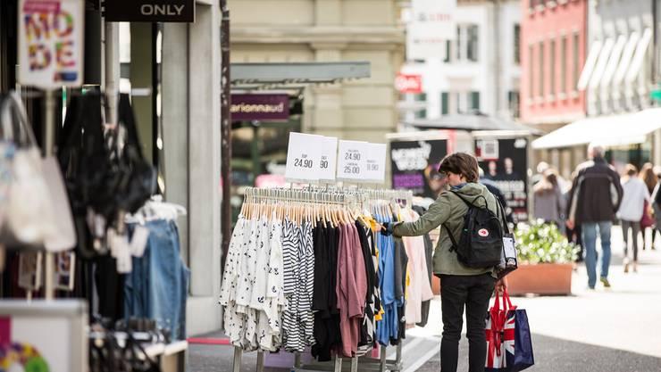 Kann man ab 2020 auch an Sonntagen in Baden shoppen? Die Gewerbetreibenden hoffen genau darauf.