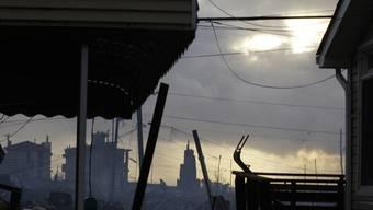 """""""Sandy"""" soll einen volkswirtschaftlichen Gesamtschaden von bis zu 50 Milliarden Dollar verursacht haben"""
