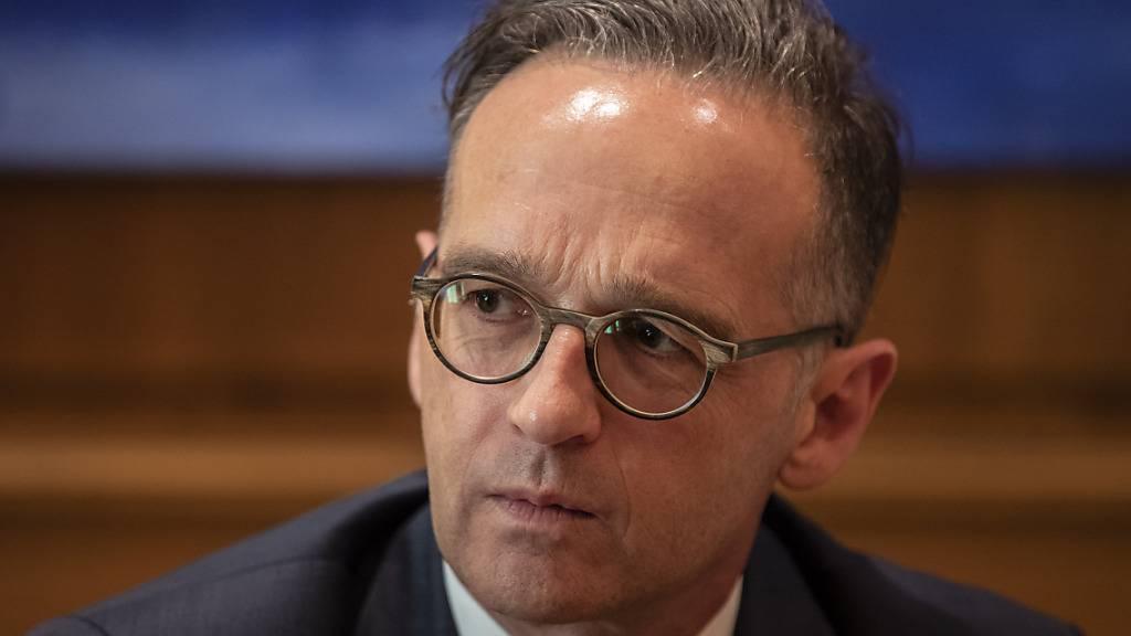 Heiko Maas, Außenminister von Deutschland. Foto: Petros Giannakouris/AP/dpa