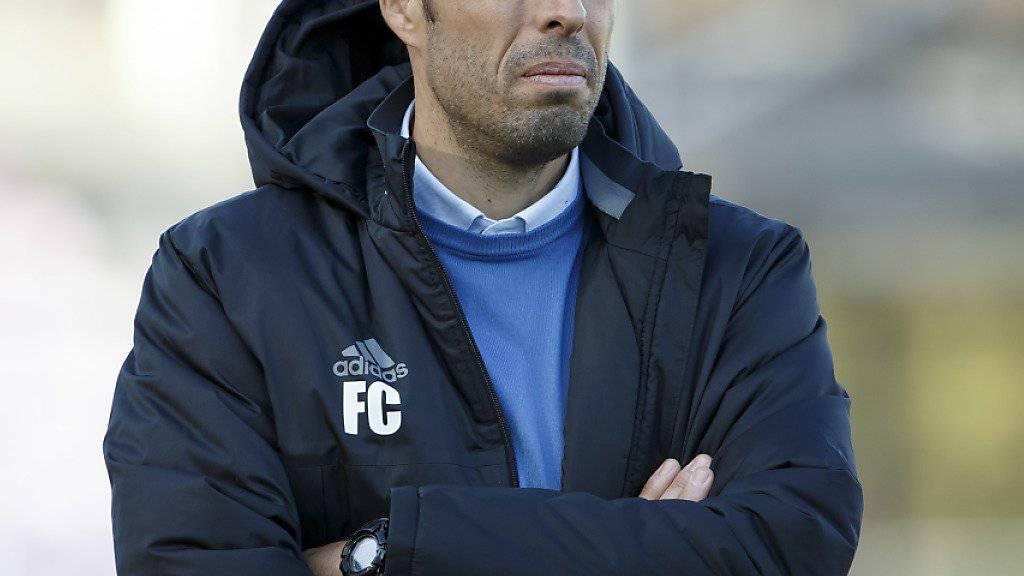 Lausanne-Trainer Fabio Celestini erhofft sich in der Rückrunde mehr Stabilität in der Defensive