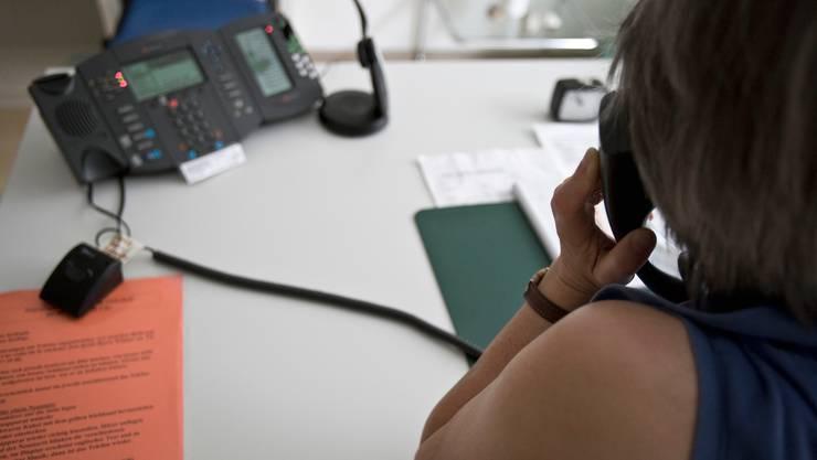 Der Gesundheitsdienst der Stadt Bern steht telefonisch für Gespräche zur Verfügung. (Symbolbild)