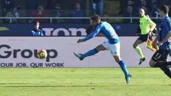 Dries Mertens schiesst Napoli zum Auswärtssieg gegen Atalanta Bergamo